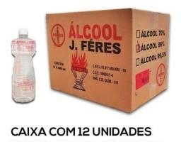 Caixa de álcool 70 promoção