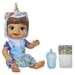 Boneca Baby Alive Tinycorn Morena ou Loira 100% Original Hasbro Nova Lacrada!