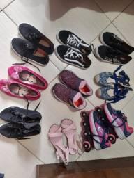 Calcados infantil feminino