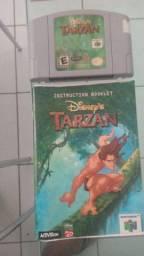 Cartucho Nintendo 64 Tarzan com manual