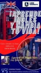 Aulas de Inglês, Espanhol e Italiano (básico, intermediário, avançado, conversação)