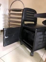 Cadeira manicure mas esposito de esmalte
