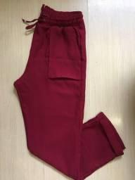 Calça vermelha - Amaro
