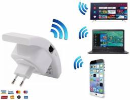 Repetidor Wi-fi, Amplificador Wireless 300mbps Parede