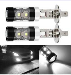 Título do anúncio: Lâmpadas De Led Branco H1 8000k Para Carro