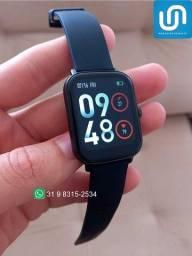 Título do anúncio: Relógio Inteligente Smartwatch P8 Plus Colmi - Preto + Pulseira Brinde