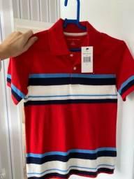Camisa Tommy infantil - 10 anos