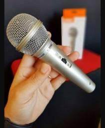 Título do anúncio: Microfone Karaokê Canto Festa + Cabo 2,5mt 701