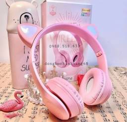 Título do anúncio: Head Fone Bluetooth Feminino 90 R$ - Novo