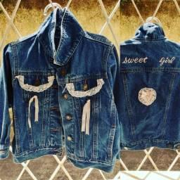 Vendo Jaqueta Jeans Infantil