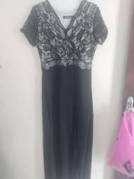 Vestido de festa preto Tam M