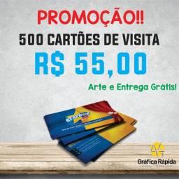 Cartão de Visita - Arte e Entrega Grátis.