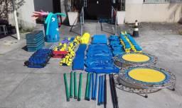 Material de piscina e hidroginástica