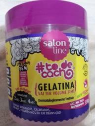 Vendo gelatina para cabelos cacheados