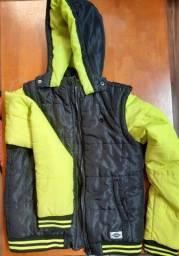 Título do anúncio: Jaqueta de nylon vira colete