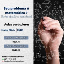 Aulas particulares - Matemática