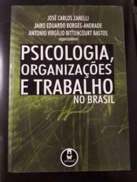Livro Psicologia, Organizações e Trabalho no Brasil