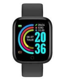 Relogio Inteligente Smartwatch D20 Bluetooth Monitor Saúde Android/IOS