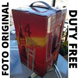 Título do anúncio: 4x Johnnie Walker Red Label 1L (Duty Free)