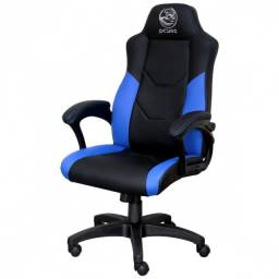 Título do anúncio: Cadeira Gamer Mad Racer V6 Turbo Azul - Gmadv6taz