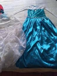 Vestido do Frozen