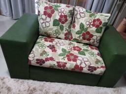 Título do anúncio: Conj 3 peças sofá