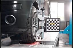 Auto Center alinhamento balanceamento suspensão troca de óleo freio pneus