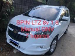 Título do anúncio: Spin LTZ completa com gás novo, 7 lugares 2017