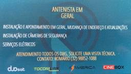 Antenista em Santos Dumont mg