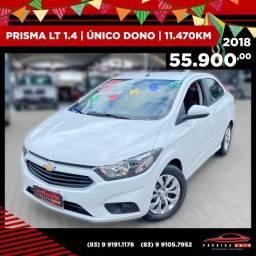 Prisma LT 1.4 - 2018 Com Apenas 11.470 Km Rodado