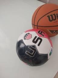 Duas bolas originais dos estados unidos