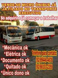 Título do anúncio: Vende-se ônibus já filiado no transporte executivo