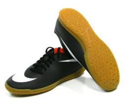 Tenis Nike Bravata Futsal preto tam  37-43 541317ada11d6