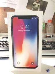 IPhone X 256 GB zero na caixa na cor preta