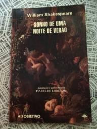 Livro juvenil Sonho de uma noite de verão