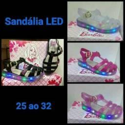 Sandália led barbie