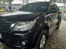 Toyota Hilux ano 2015 2.7 automático Gnv 5 geração - 2015