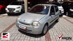 RENAULT CLIO 2001/2001 1.0 RL 16V GASOLINA 4P MANUAL - 2001