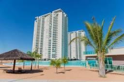 Lindo mobiliado - brasil beach home resort - 88mts² 02 quartos - andar alto/02 vagas de ga