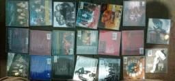 Coleção cds the best ofs de bandas de rock clássicas