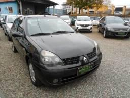 Renault clio sed 36x539 sem entrada privilege 1.6 completo 2005 - 2005