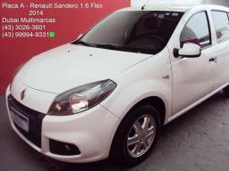 Renault Sandero Expression 1.6 Flex - 1ª Dona - Completo - Placa A - 2014