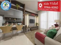 ARV68- Apartamento em Morada c/Varanda, 2Q no Via Sol Cond. Club