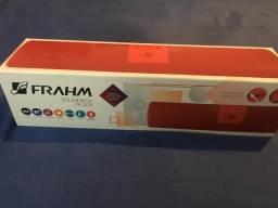 Caixa de som Bluetooth Frahm SB 215 BT vermelha, com Rádio