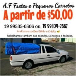 Oba Carretos e Fretes Disponível