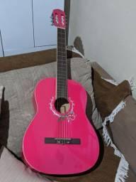 Violão Memphis by tagima ( rosa ) semi-novo.
