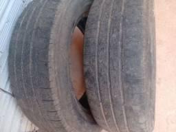 Vendo 02 pneus usado meia vida 185.65.15