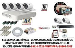 Sistema de câmeras em HD e FULL HD *