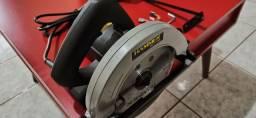 Serra circular 110v semi profissional nova lacrada e com garantia