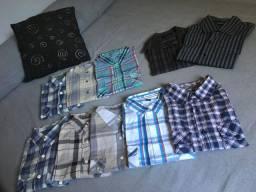 Camisa xadrez diversas Hering etc